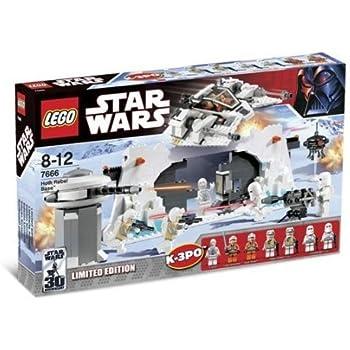 Lego Star Wars Hoth Rebel Base: Amazon.co.uk: Toys & Games