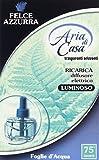FELCE AZZURRA ARIA DI CASA ELETTRICO RICARICA FIORI BIANCHI E ALOE