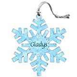 Acrylic Christmas Tree Holiday Snowflake Ornament Names Female - Best Reviews Guide