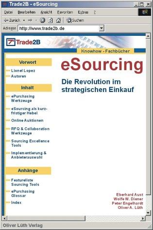 eSourcing. Die Revolution im strategischen Einkauf.