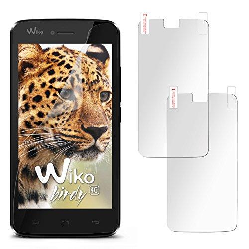 2X Wiko Birdy | Schutzfolie Matt Display Schutz [Anti-Reflex] Screen Protector Fingerprint Handy-Folie Matte Displayschutz-Folie für Wiko Birdy/Wiko Birdy 4G Displayfolie