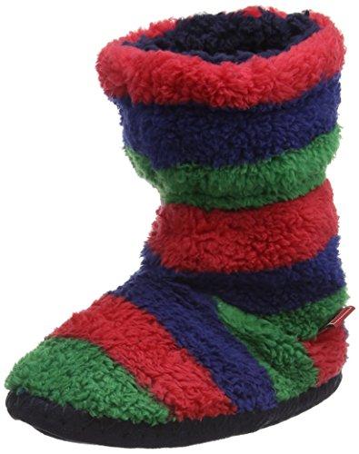 Tom Joule Padabout Jungen Hausschuhe Multicolor (Multi Stripe)