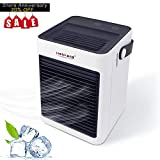 HeiPard Portable Air Cooler, Personal Space USB Mini Conditioner Fan,Tip-over Protection,Leakproof,Humidifier&Purifier, For Home Office Desktop Travel, 8.5 inch