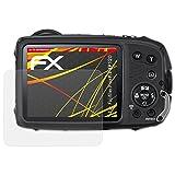 atFoliX Folie für Fujifilm FinePix XP120 Displayschutzfolie - 3 x FX-Antireflex-HD hochauflösende entspiegelnde Schutzfolie