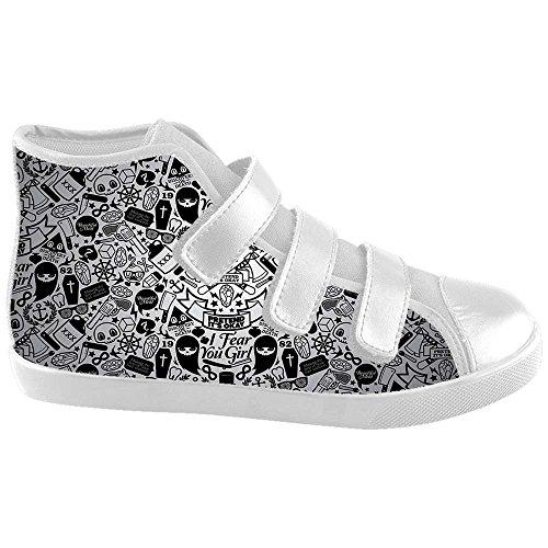 Dalliy Flower Sugar skull Kids Canvas shoes Schuhe Footwear Sneakers shoes Schuhe A
