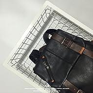 Sacs à bandoulière rétro britannique original sac homme sacs sacs à main sacs de voyage et des loisirs en vrac,Black