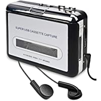 DIGITNOW! Portatile registratore a Cassetta & Audio Cassetta Nastro, Walkman e Convertitore di Audiocassette in File Digitali MP3 Via USB,Compatibile Mac e Windows