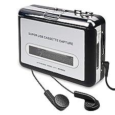 """Dies ist ein großartiges Produkt, um Ihre alten Erinnerungen zu organisieren.  1. Es kann Ihr Band in MP3 WAV Ogg vorbis Form umwandeln.  2. Es gibt eine Mini-CD mit dem Produkt. Die Software """"Audacity"""" in der CD ist kompatibel mit Windows XP, Vista ..."""