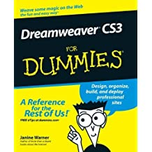 Dreamweaver CS3 For Dummies by Warner, Janine Published by For Dummies (2007) Paperback