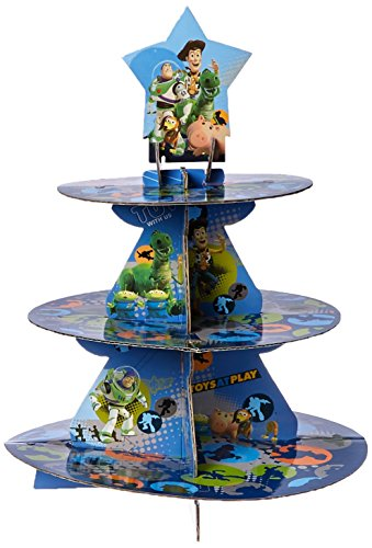 Wilton Treat stand-toy Story 11.75-inch X 15Zoll für 24Cupcakes, andere, mehrfarbig (Toy Story Stand)