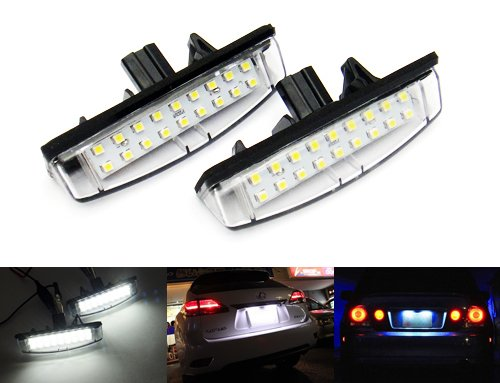 2-x-luffy-licenza-led-targa-luce-bianco-no-errore-lexus-is-altezza-es-gs-ls-rx-ct-toyota-avensis-ver
