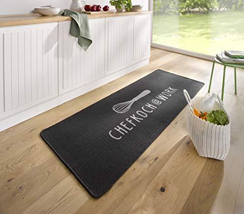 Hanse Home Küchenläufer Chefkoch Anthrazit, 67x180 cm