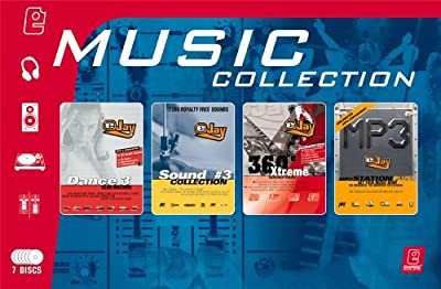 Music Collection (Dance eJay 3, Sound Collection 3, 360 Xtreme, MP3 Station plus)