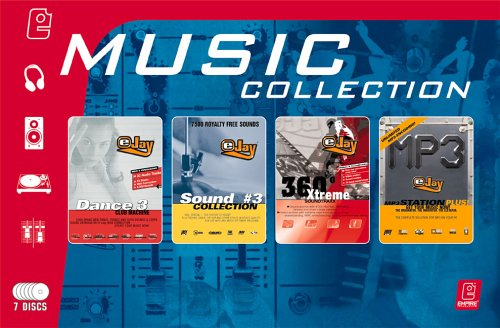 eJay Music Collection (Dance eJay 3, Sound Collection 3, 360 Xtreme, MP3 Station plus)