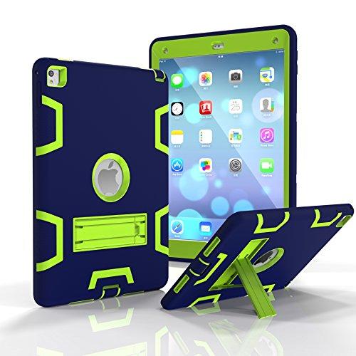 SUMOON SUMOON iPad Pro 9.7 Protective Case Unknown Tablet-Schutzhülle, Apple ipad pro 9.7, Marineblau/grün, Stück: 1 (Apple Cube Ipad-ladegerät)