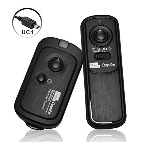 Pixel RW-221 UC1 Wireless Remote Commander Auslöser Kabel für Olympus Kameras OM-D Pen E30 E400 E400 ersetzt Olympus RM-UC1