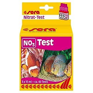 sera 04510 NO3-Test 15 ml - Nitrat Test für ca. 60 Messungen, misst zuverlässig und genau den Nitratgehalt, für Süß- & Meerwasser, im Aquarium oder Teich