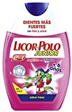 Licor del Polo Junior - Dentífrico + Enjuague 2 en 1 - para +6 años con sabor de fresa - 75 ml