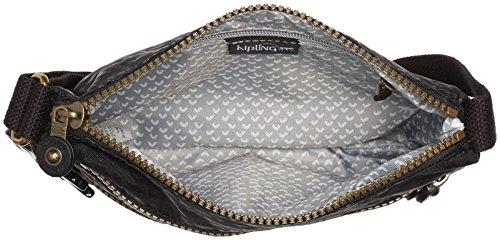 Kipling Ashlee Creativ S Re, Sacs bandoulière Noir (Plover Black)
