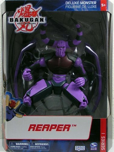 Bakugan Battle Brawlers Series 1 Deluxe Monster 8 Inch Tall Action Figure - R... by Bakugan