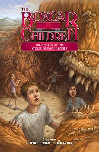 The Mystery of the Stolen Dinosaur Bones (The Boxcar Children Mysteries Book 139) (English Edition)