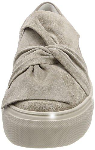 Kennel und Schmenger Schuhmanufaktur Damen Big Slip On Sneaker Braun (Ombra Sohle Creme)