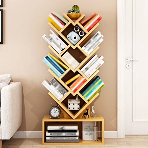 Bücherregal Floorstanding Tree High Capacity Student Children's Bookshelf (Farbe : B) (High Bücherregal)