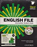 English File. Intermediate Student's Book + Workbook  + Entry Checker (con clave)