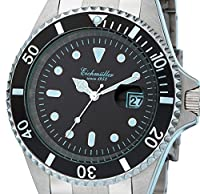 Eichmüller 3410-01 - Reloj de buceo, haeusler, 20 ATM + VH 20ATM de Eichmüller