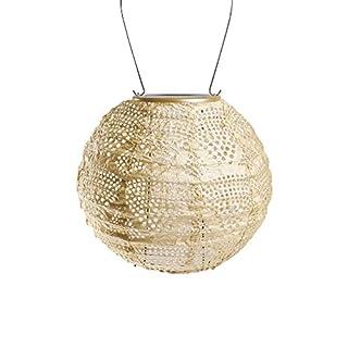 Allsop Home & Garden 31771 Soji Stella Pearl Wave Globe Solar Lantern