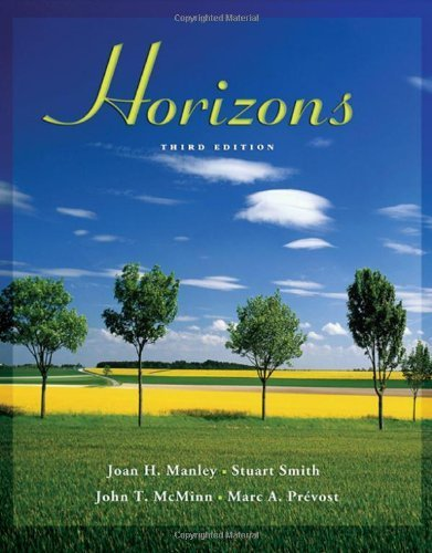 Horizons (with Audio CD) 3rd edition by Manley, Joan H., Smith, Stuart, McMinn, John T., Prvost, Ma (2005) Hardcover
