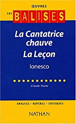 La Cantatrice chauve suivi de La leçon, Ionesco