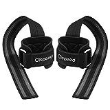 CLISPEED Fitness Lifting Straps Gepolstert Handgelenk Bandagen Zughilfen für Gewichtheben...