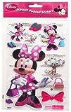 Disney Minnie Mouse: selbstklebende gepolsterte Aufkleber
