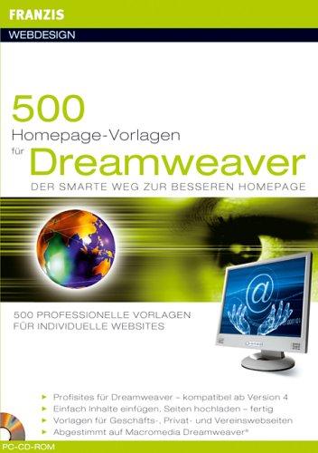 Preisvergleich Produktbild 500 Homepage Vorlagen für Dreamweaver