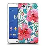 Head Case Designs Hibiscus Tropical Fleurs À L'aquarelle 2 Étui Coque en Gel Molle pour Sony Xperia Z3 Compact/D5803