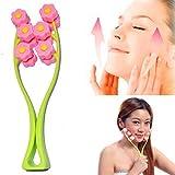 Careshine Rodillo facial masajeador de celulitis para quitar la barbilla del cuello, cara adelgazante, masajeador de belleza herramienta