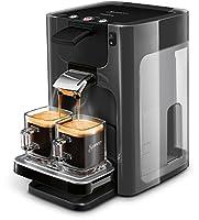 Philips Senseo Quadrante HD7868/20 Kaffeepadmaschine (XL-Wassertank, inklusive Kaffeestärkewahl) kaschmirgrau