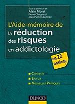 L'aide-mémoire de la réduction des risques en addictologie - En 22 fiches de Alain Morel