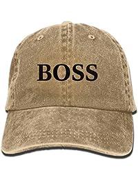 793f71560df29 Miedhki Sombrero Ajustable de la Gorra de béisbol del Estilo del Vaquero de  Boss para el