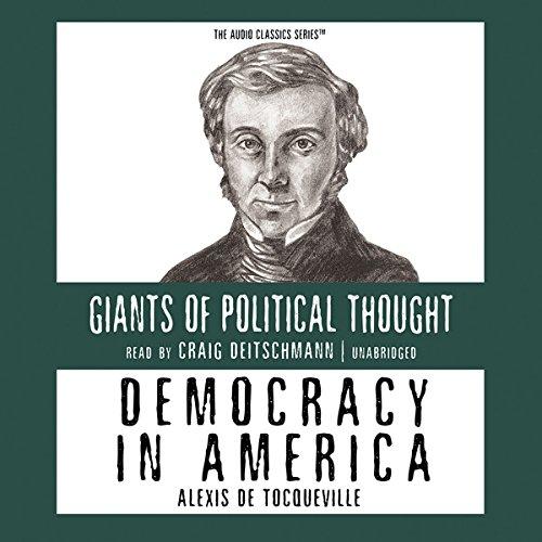 Democracy in America  Audiolibri