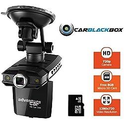 Adventure Car- DashCam AR-720P4 HD & función Car Black-Box