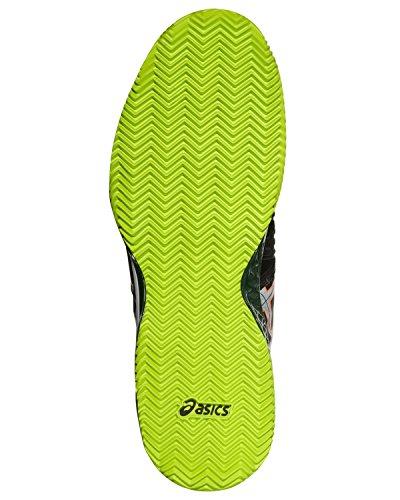 Asics gel-resolution 6 clay chaussures de tennis pour homme de la Noir