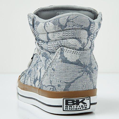 British Knights Dee Donne Alte Sneakers GREY/FLOWER