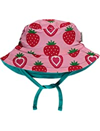 Maxomorra Baby Sonnenhut zum Binden STRAWBERRY