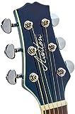 Ashton Sl29ceq Guitare électro-acoustique Ultra fine Bleu