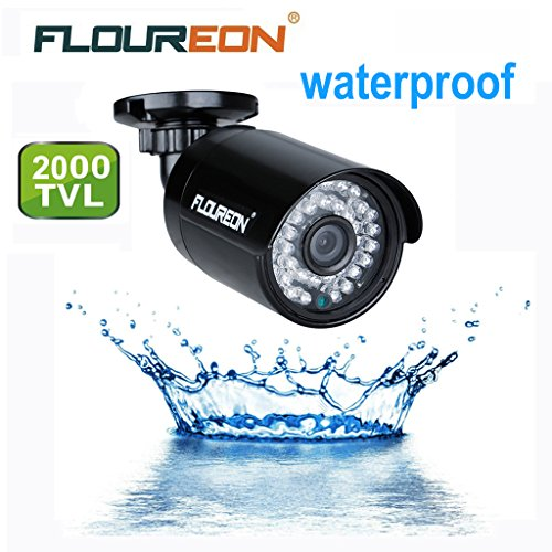 FLOUREON CCTV AHD Camera for CCTV DVR Camera System