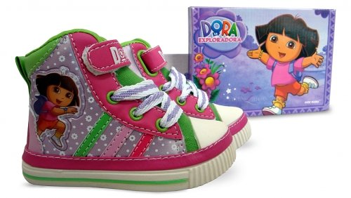 Other Anderen Dora The Explorer Kinder Stiefel size-uk-5/eur-22