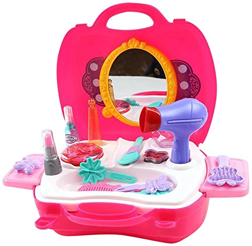Toyhouse Kids Girls Gift Game Beauty Set, Multi Color (21 Pieces)