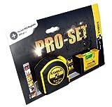 Stabila Pro-Set mit Maßband und Pocket Pro Magnetic Wasserwaage